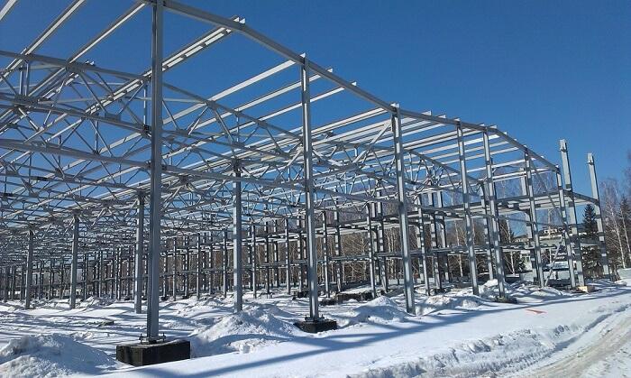 Металлические конструкции в строительстве