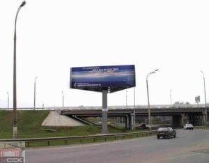 Изготовление рекламных конструкций Рекламный щит «Треугольник»