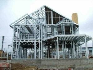 Дом из металлоконструкций своими руками1