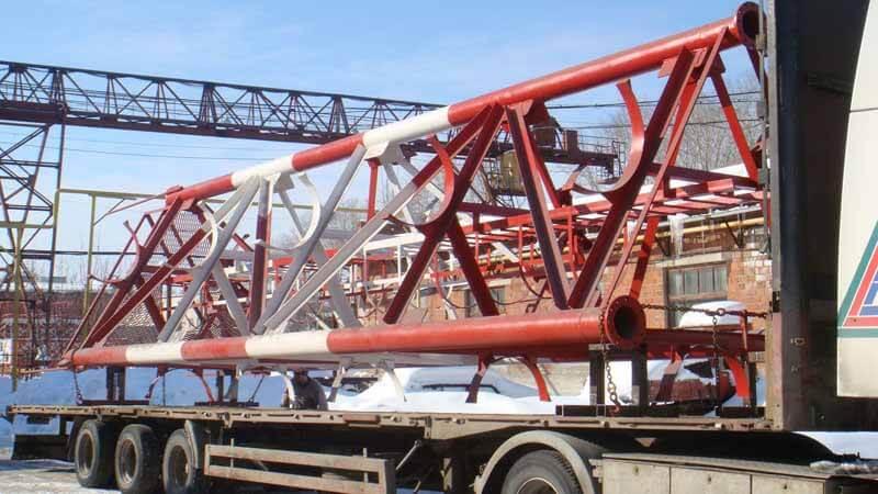 Транспортировка металлоконструкций